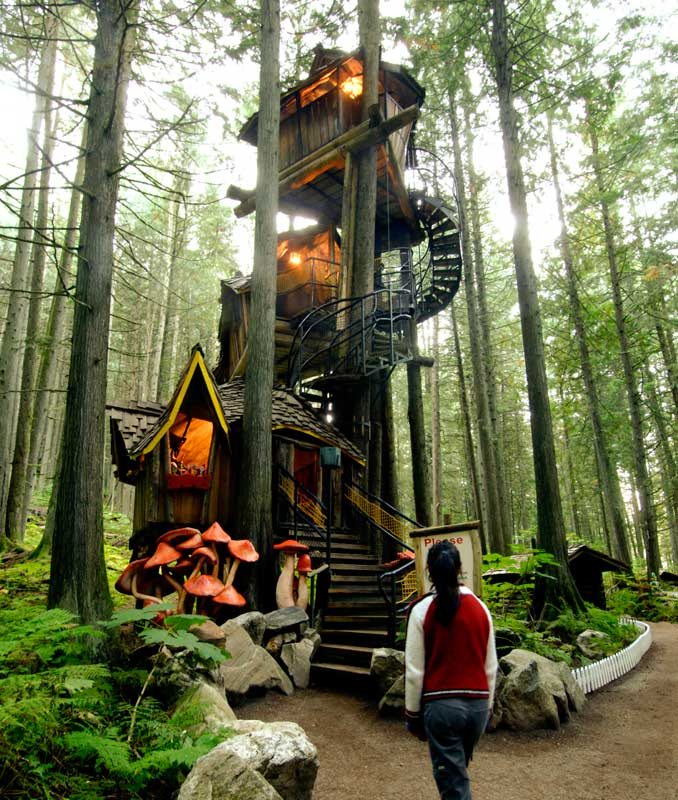 Biggest Treehouse In The World 2014 tree houses from around the world | home matters ahs