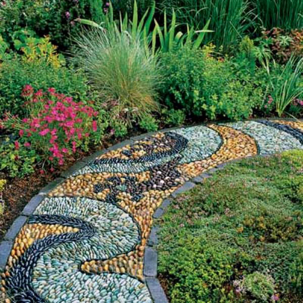 Garden Design Garden Design with stone path ideas on Pinterest
