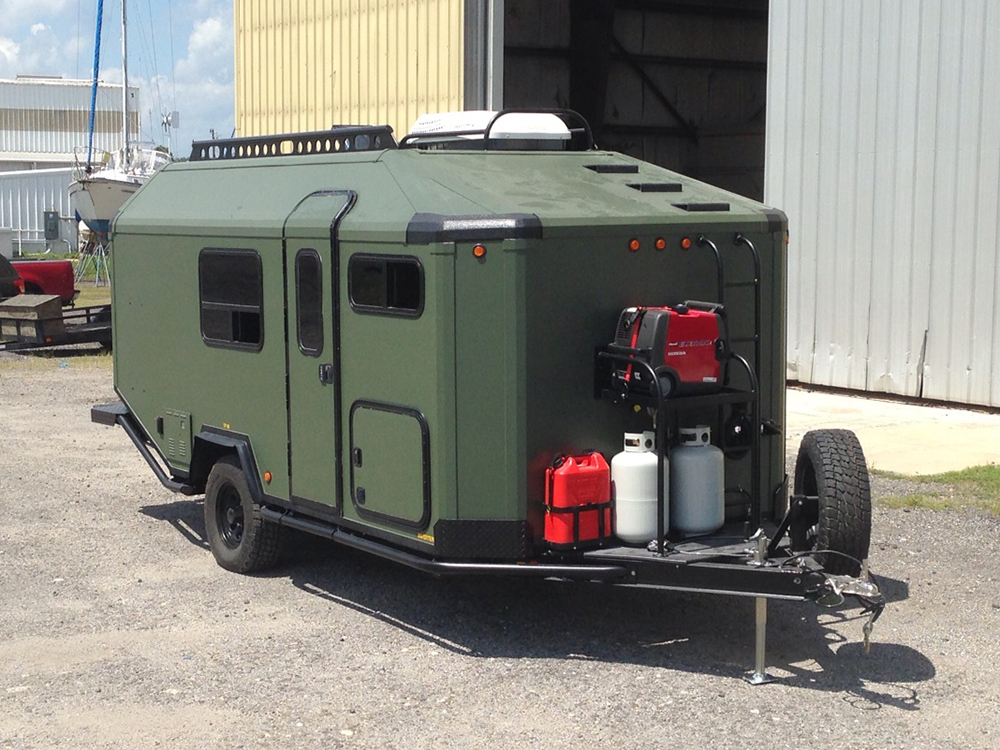 off road trailer might be perfect mobile off grid bug out. Black Bedroom Furniture Sets. Home Design Ideas