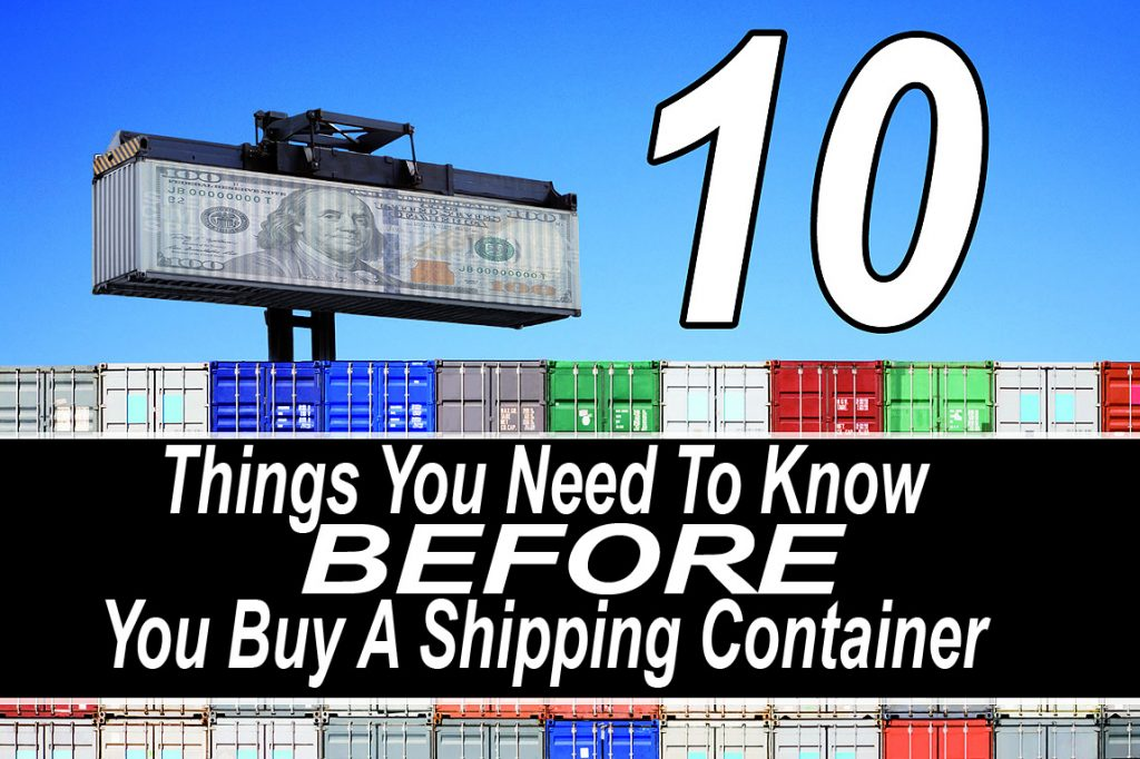 10 Things You Need To Know Before You Buy A Shipping