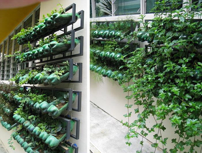 10 easy diy vertical garden ideas off grid world for Vertical garden containers