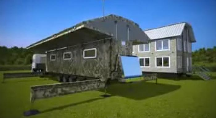 Expandable Travel Trailers >> Amazing Expandable 'Folding' Shipping Container Homes ...