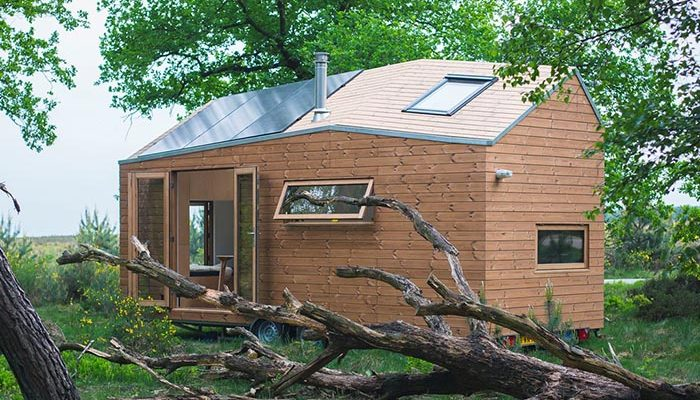 100% Off Grid Tiny House w/Built-in Rainwater Collector & Solar Power