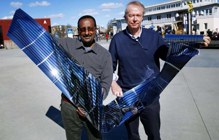New Quot Printed Quot Thin Flexible Solar Panels Offer High